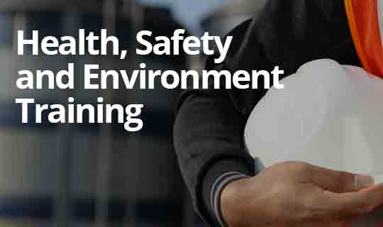 UK Health, Safety & Environment (HSE) Level 1, 2 & 3
