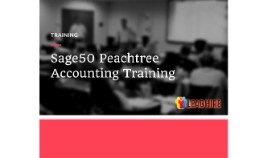 Sage 50 Accounting Training