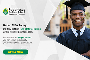Masters of Business Administration - MBA
